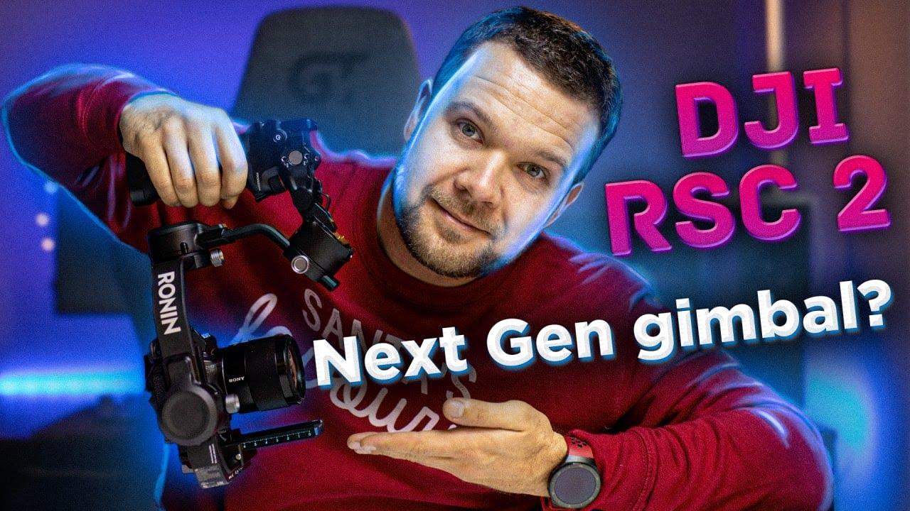 DJI RSC2 - Гимбал для голливудских кадров