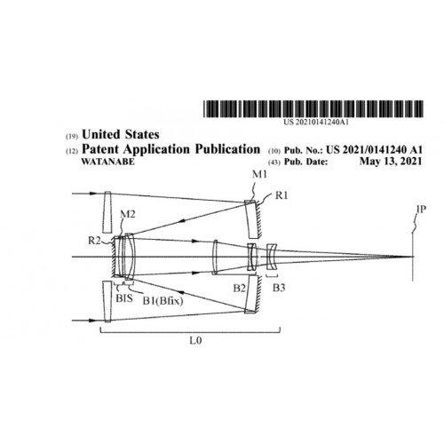 Патенты Canon на катадиоптрические супертелеобъективы