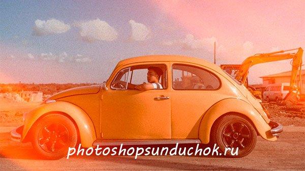 Текстуры солнечных бликов для фотошопа